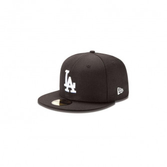 Kšiltovka New Era 5950 Mlb Basic Los Angeles Dodgers Black White