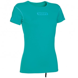 lycra top ION SS Women Promo turquoise
