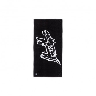 Ručník Quiksilver Ghetto Towel True Black