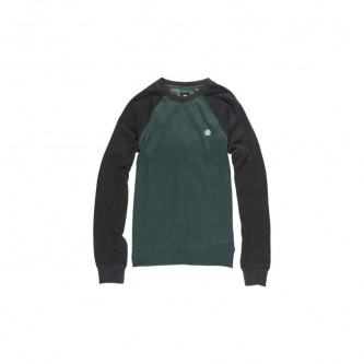 Mikina Element Vermont Crew Hunter Green