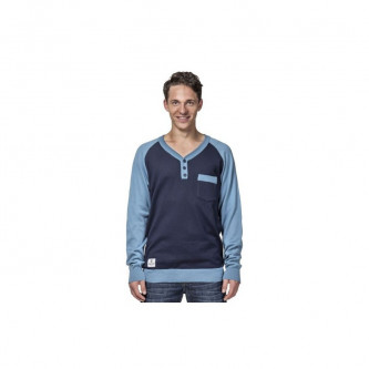 Svetr Horsefeathers Luke Sweater Blue