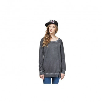 Mikina Horsefeathers Yasmina Sweatshirt Washed Black