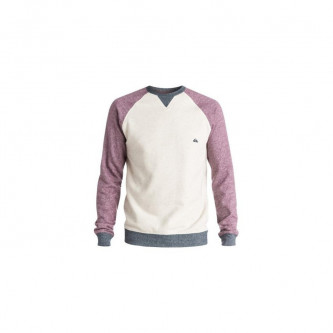 Mikina Quiksilver Rio Negro Crew Plum Wine Heather