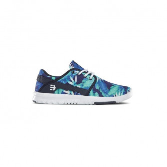boty ETNIES GIRL Scout Wmns blue white navy