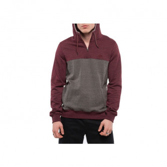 Mikina Element Meridian 1/4 Zip Charcoal Heather
