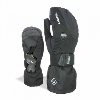 Rukavice Level Fly Mitt Black