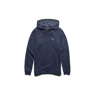 mikina ETNIES Coava Hooded Henley DARK NAVY