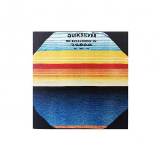 deka QUIKSILVER Two Face Towel nasturtium