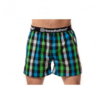 trenky HORSEFEATHERS Apollo Boxer Shorts GREEN