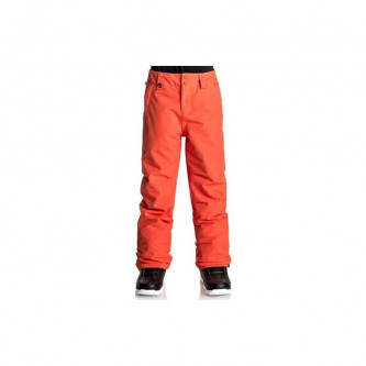 kalhoty QUIKSILVER Estate Youth MANDARIN RED