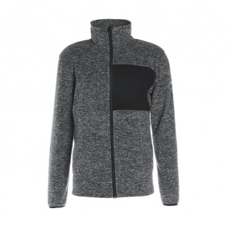 mikina QUIKSILVER Butter Fleece Grey Heather
