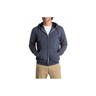 mikina QUIKSILVER Everyday Sherpa Navy Blazer Heather