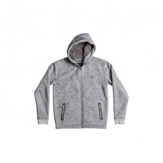 mikina QUIKSILVER Kurow Sherpa LIGHT GREY HEATHER