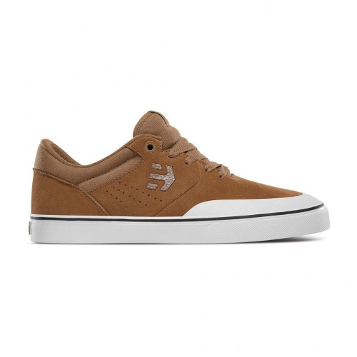 boty ETNIES Marana Vulc Brown White