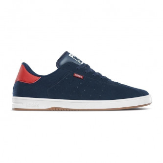 boty ETNIES The Scam Navy Red White