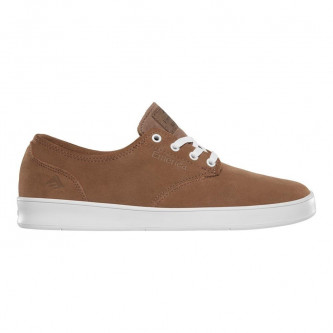 boty EMERICA The Romero Laced Brown White Gum