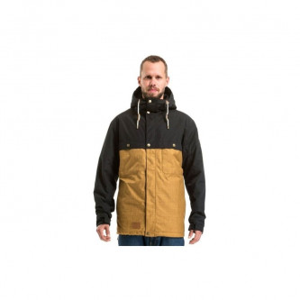 bunda MEATFLY Dandy Parka C BLACK OCHRE