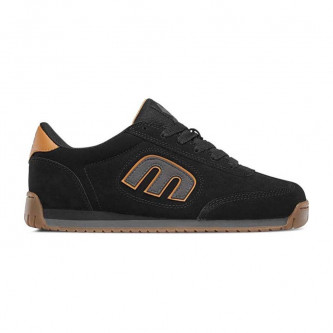 boty ETNIES Lo-Cut II LS Black Grey Gold