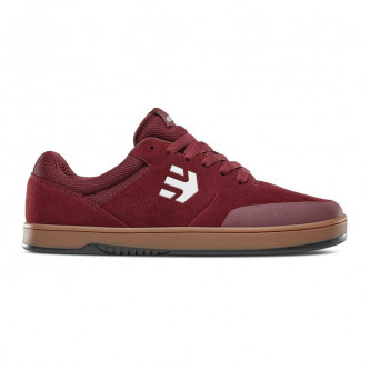 boty ETNIES Marana Michelin Burgundy Tan White