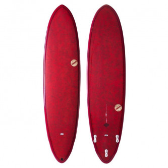 surf board NSP Coco Dreamrider 7,2-21 Red
