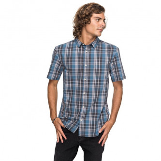 košile QUIKSILVER Everyday Check Real Teal Everyday Check