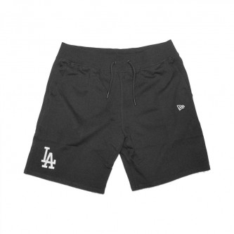 kraťasy NEW ERA Team Apparel Los Angeles Dodgers Woodland Black