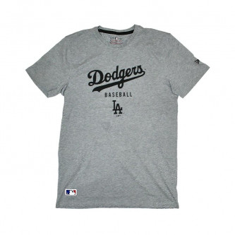 triko NEW ERA Team Apparel Classic Los Angeles Dodgers Light Grey