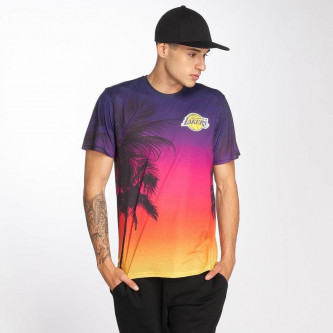 triko NEW ERA NBA Coastal Heat Los Angeles Lakers