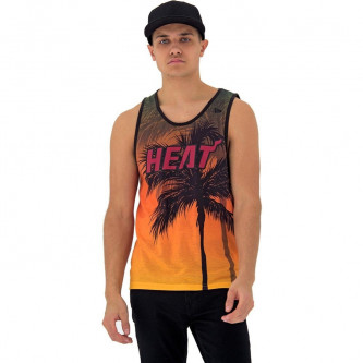 tílko NEW ERA NBA Coastal Heat Miami Heat