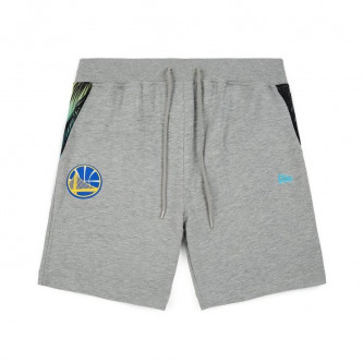 kraťasy NEW ERA NBA Coastal Heat Golden State Warriors