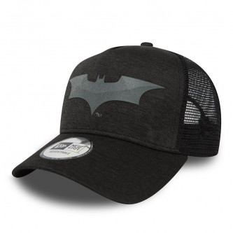 kšiltovka NEW ERA 940 Warner Bros Af Trucker Concrete Jersey Batman Black Gray Heather