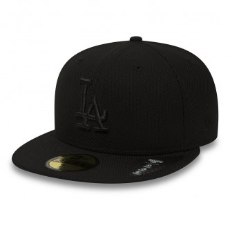 kšiltovka NEW ERA 5950 MLB Diamond Era Los Angeles Dodgers Black Black