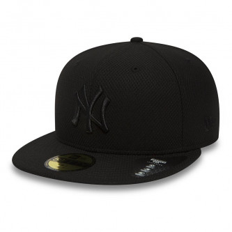 kšiltovka NEW ERA 5950 MLB Diamond Era New York Yankees Black Black
