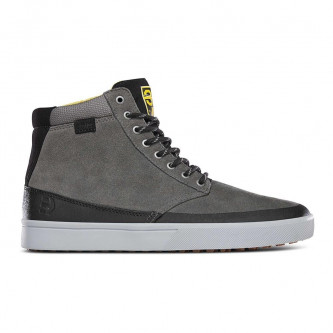 boty ETNIES Jameson HTW X 32 Grey Black Yellow 2d560448eab