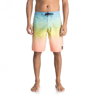 plavky QUIKSILVER Momentum Fader 21 Silver Lake Blue