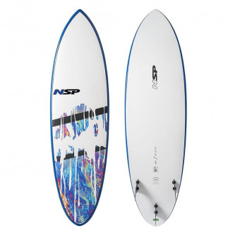 surf board NSP E-PLUS Hybrid 6,6-21,5