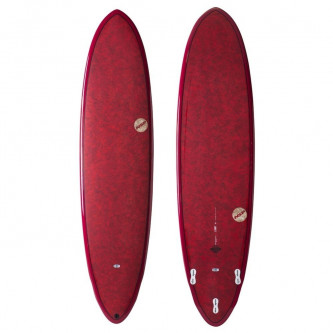 surf board NSP Coco Dreamrider 7,6-21,5 Red