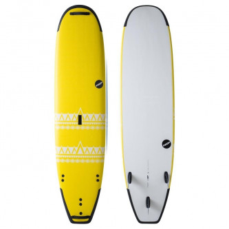 surf board NSP P2 Soft Surfwide 9,2-24 Yellow