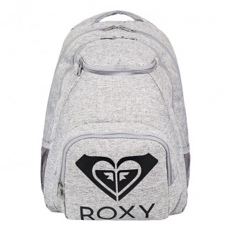 batoh ROXY Shadow Swell Solid Logo Heritage Heather