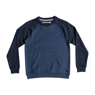 mikina QUIKSILVER Ma Jime Crew Medieval Blue Heather