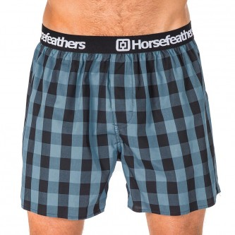 trenky HORSEFEATHERS Sidney Boxer Smoke Blue