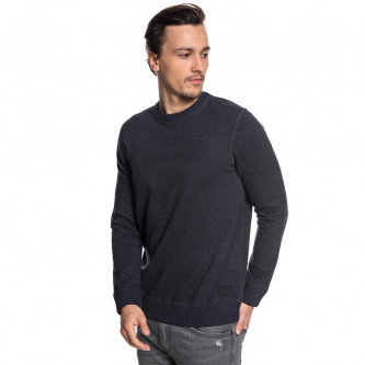 svetr QUIKSILVER Seto sea Dark Grey Heather