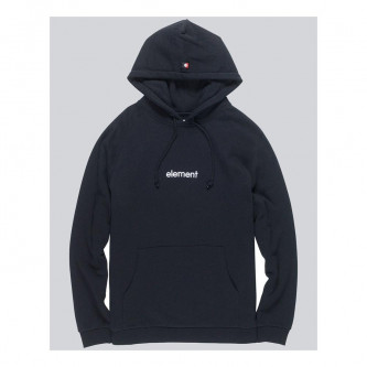 mikina ELEMENT Big Hood Flint Black