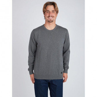 svetr BILLABONG All Day Sweater Dark Grey Heather