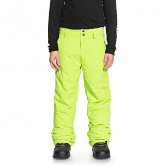 kalhoty QUIKSILVER Estate Lime Green