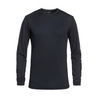 triko QUIKSILVER Territory Layer Top Black