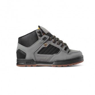 boty DVS Militia Charcoal Black Gold