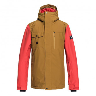 bunda QUIKSILVER Mission Solid Golden Brown