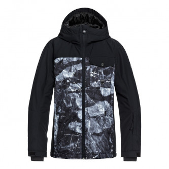bunda QUIKSILVER Mission Block Black Tannenbaum