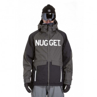 bunda NUGGET Scalar 2 Charcoal Heather Black